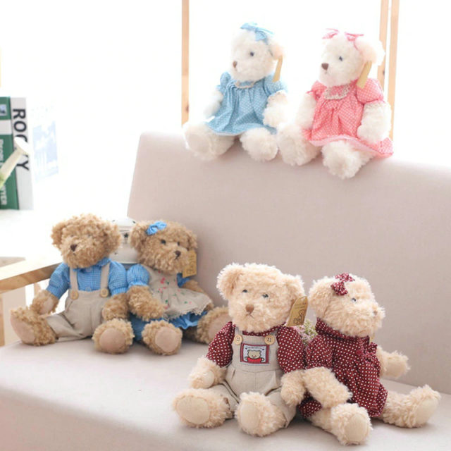 Lovely Couple Teddy Bears 26 cm (7 Styles)