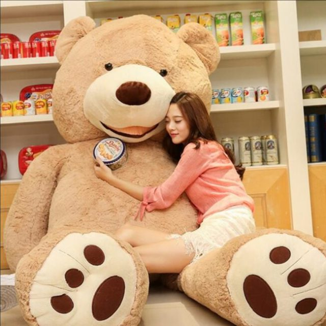 Giant Teddy Bear Skin 200 cm (stuffing not included)