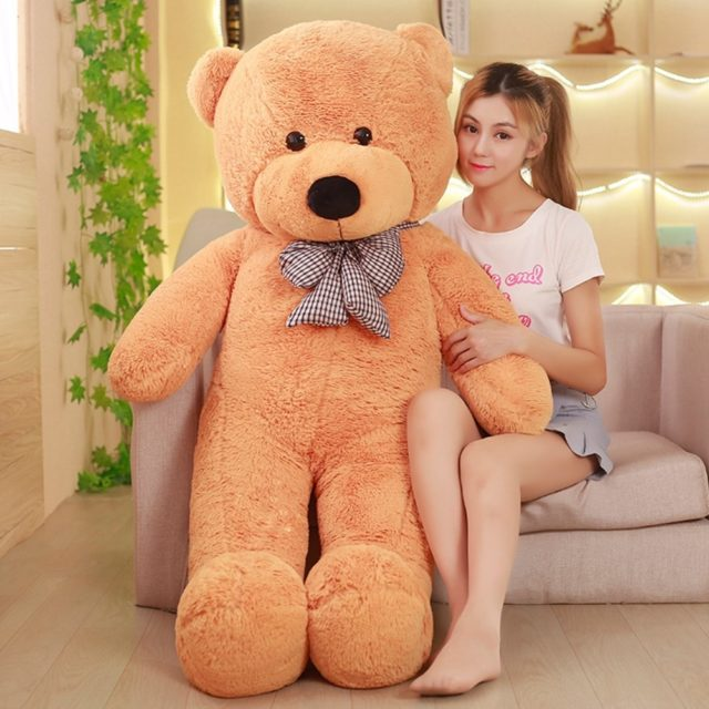 Adorable Giant Teddy Bear (3 Sizes, 7 Colors)