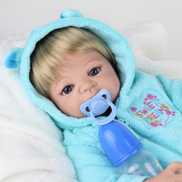 Adorable Reborn Baby Doll Soft Silicone 55 cm (22 inch) 12 Styles/Colors