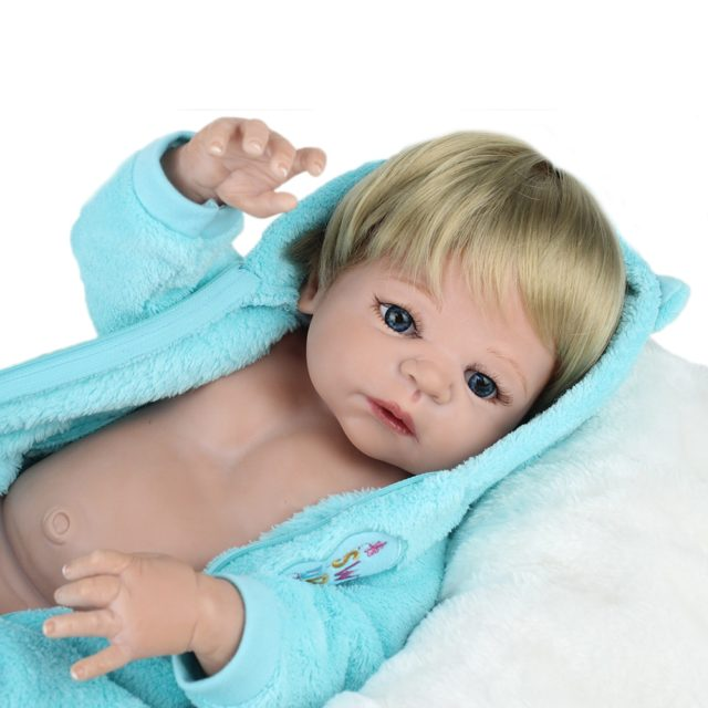 Reborn Baby Doll Soft Silicone 55 cm (22 inch) 12 Styles/Colors