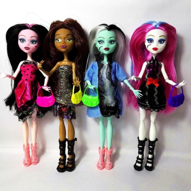 4 Funky Monster Dolls for Endless Fun